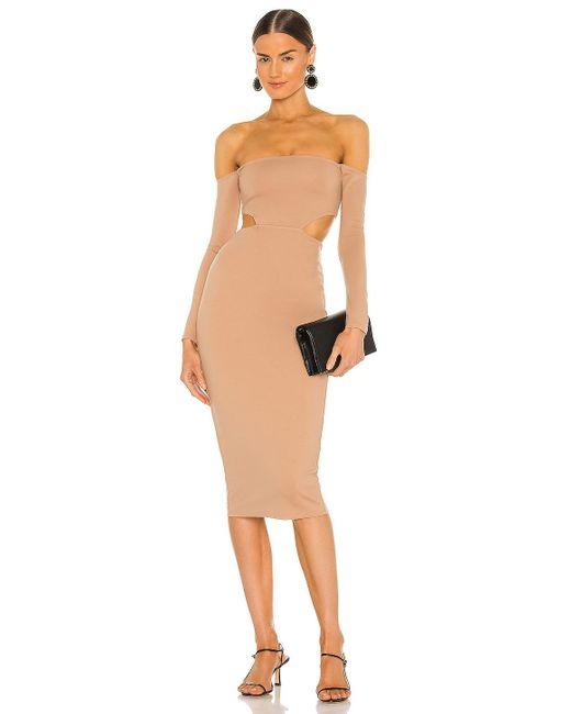 Nbd Stassi ドレス Brown
