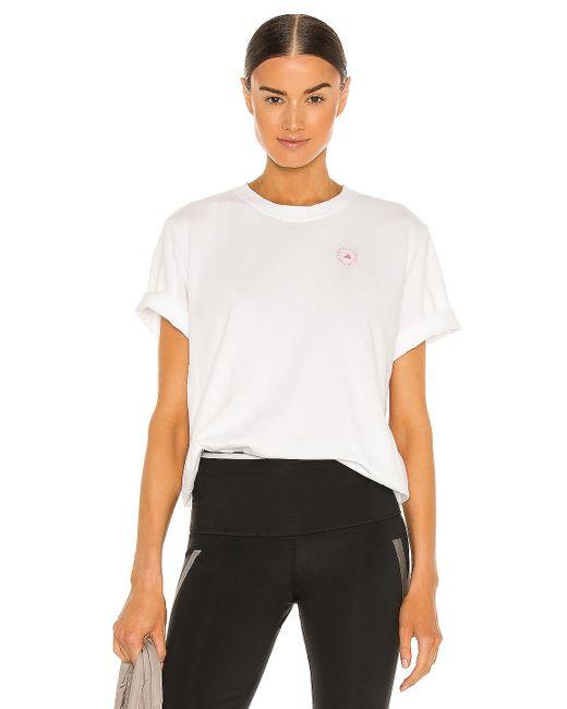 Adidas By Stella McCartney Cotton Tシャツ White