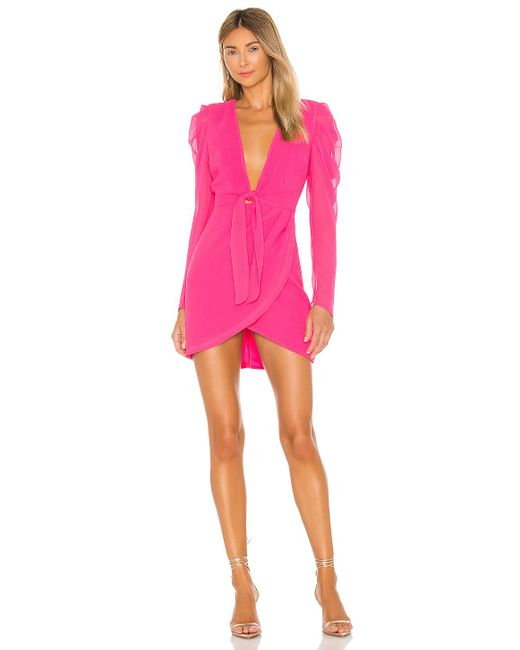 Michael Costello Ibiza ドレス Pink
