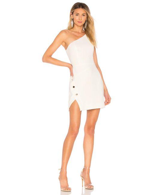 Nbd White Aldon Mini Dress