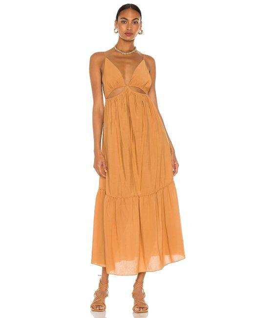 Jonathan Simkhai Calliope ドレス Orange
