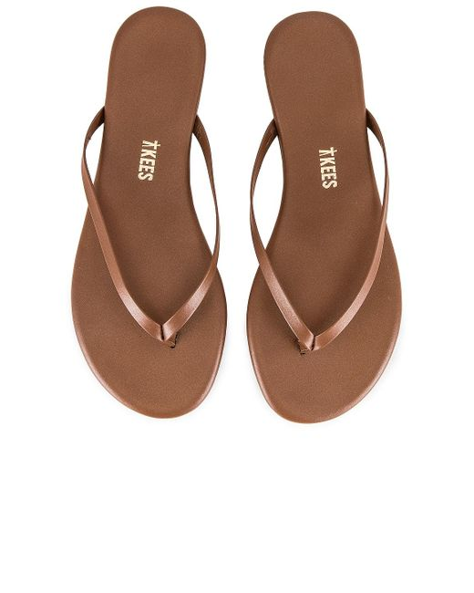 TKEES Foundations Shimmer サンダル Brown