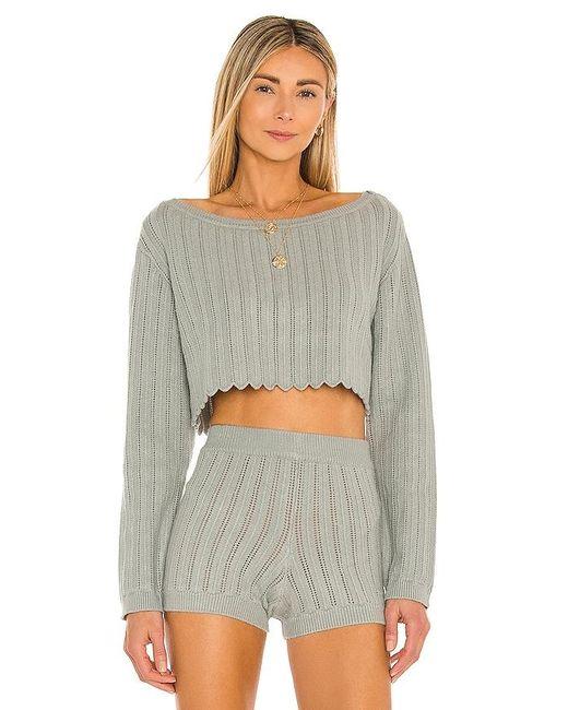 Tularosa Gray Sicily Sweater