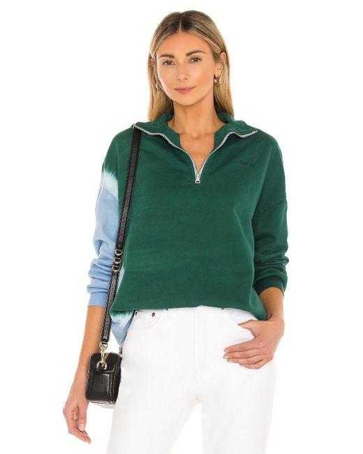 Levi's Yesterday's スウェットシャツ Green