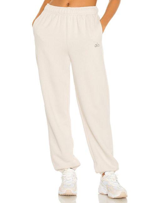 Alo Yoga Accolade Sweatpant スウェットパンツ Natural