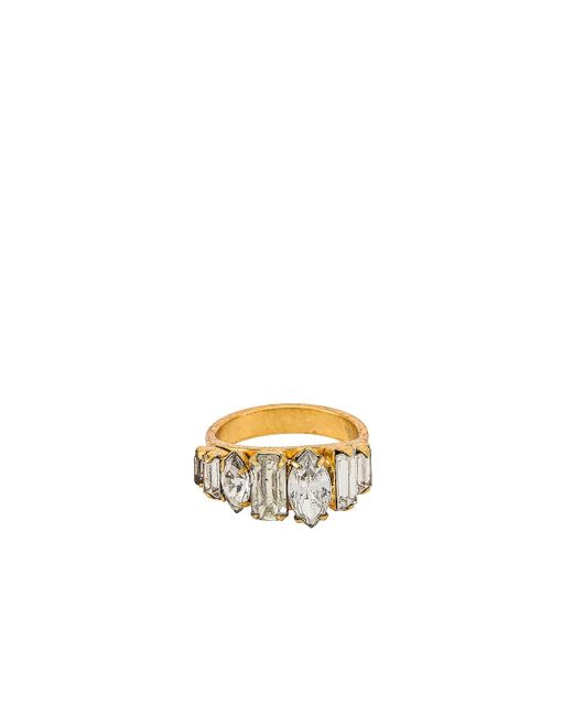 Elizabeth Cole Metallic Ramsey Ring