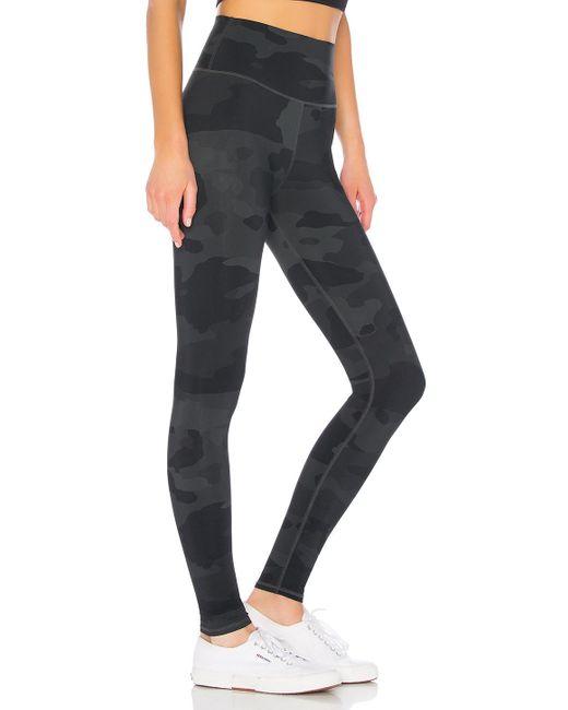 Alo Yoga Black High Waist Vapor Legging