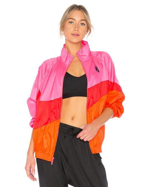 Nike - Lab Nrg Heritage Jacket In Pink - Lyst