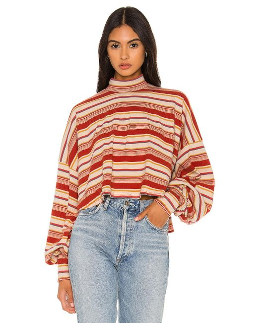 Free People Multicolor Steph Pullover
