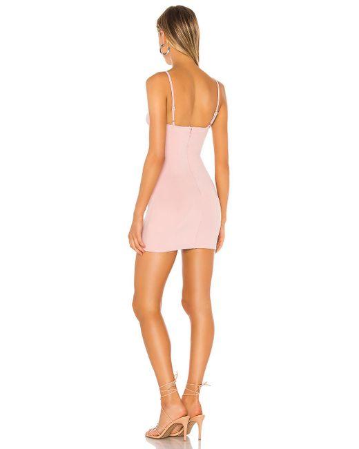 Мини Платье Brandy В Цвете Сиреневый superdown, цвет: Pink