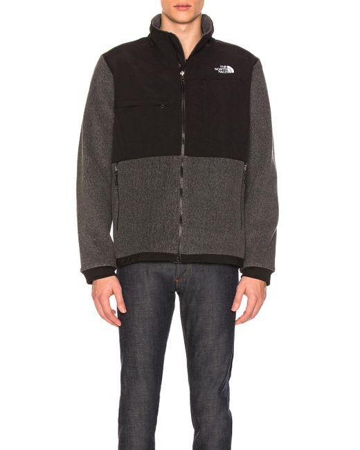 The North Face - Denali 2 Jacket In Black,gray for Men - Lyst
