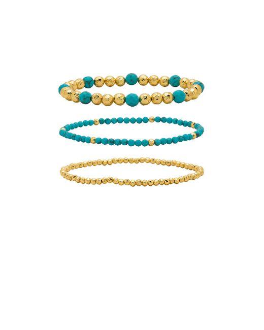 Gorjana - Blue Gypset Bracelet Set - Lyst