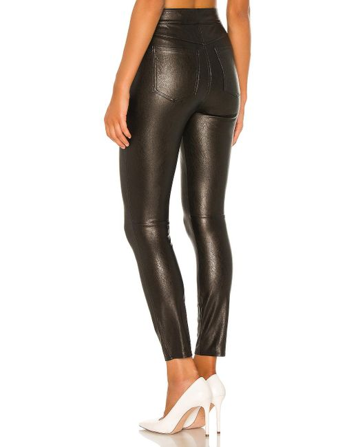 Spanx Like Leather パンツ Black