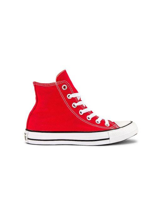 Converse Chuck Taylor All Star Hi スニーカー Red