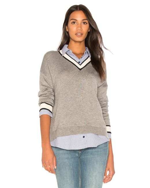 Joie | Gray Belva Sweater | Lyst