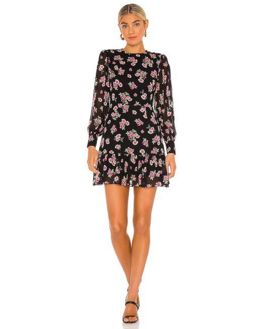 Мини-платье С Цветочным Рисунком Bay В Цвете Camden Floral Yumi Kim, цвет: Black