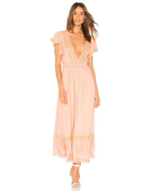 Cleobella - Pink Camelia Dress - Lyst