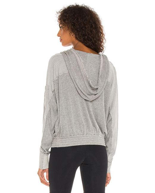 Free People Windy Meadow パーカー Gray