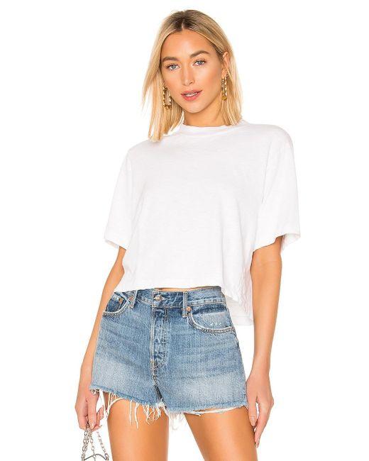 Cotton Citizen Tokyo クロップtシャツ White