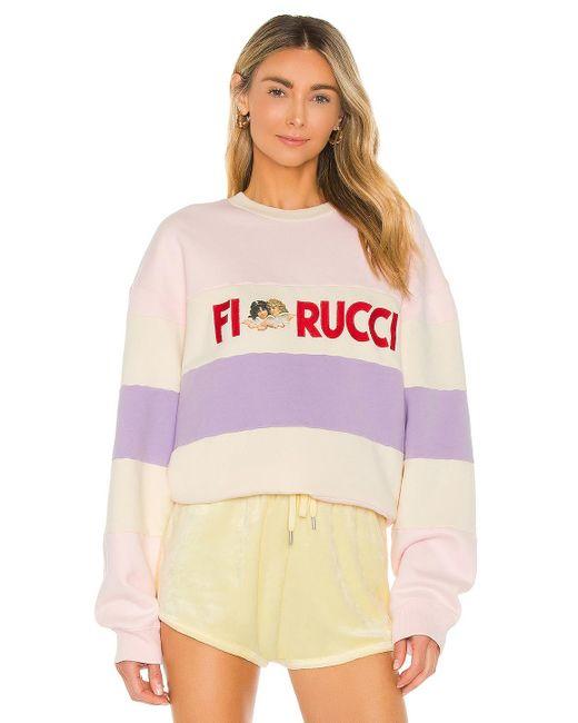 Fiorucci Italia Stripe スウェットシャツ Pink