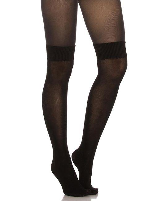 Pretty Polly | Black Secret Sock Tights | Lyst