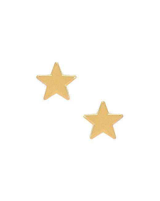 Lele Sadoughi Ashford Star スタッズイヤリング Metallic