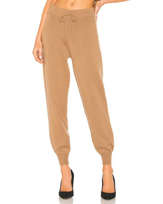 Theory - Natural Relaxed Track Pant - Lyst