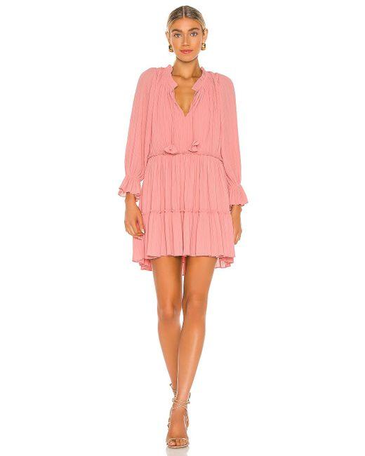 MISA Los Angles Azmina ドレス Pink