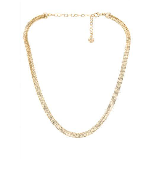 Ожерелье Gia В Цвете Золотой BaubleBar, цвет: Metallic