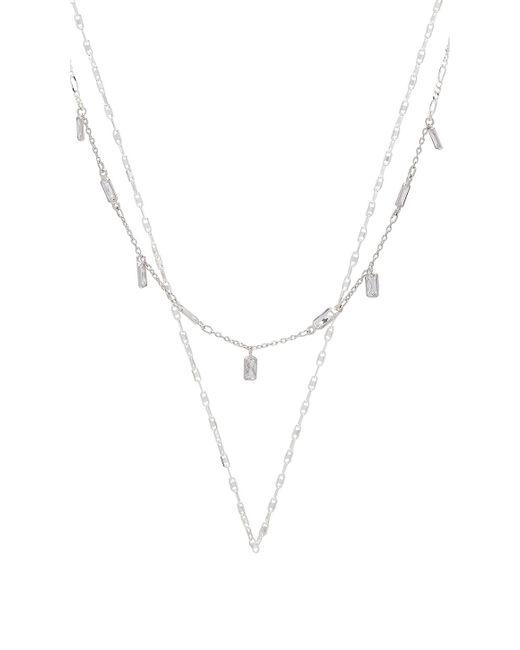 Child Of Wild - Lovestruck Layered Necklace In Metallic Silver. - Lyst