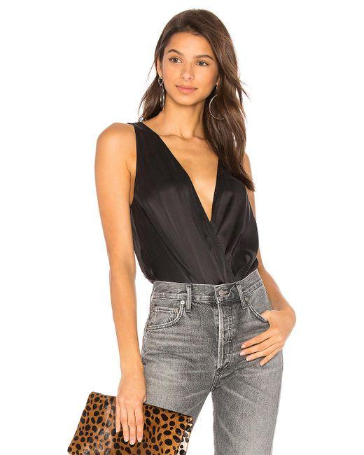 Lamarque   Black Fala Bodysuit   Lyst