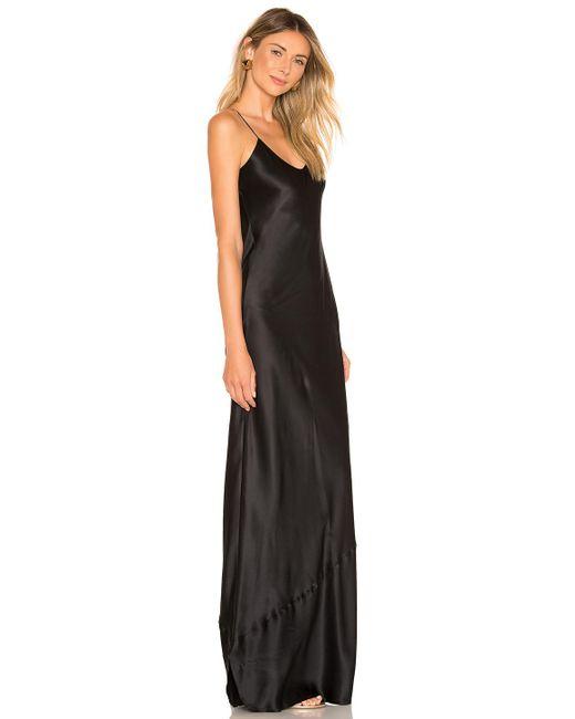 Vestido largo Nili Lotan de color Black