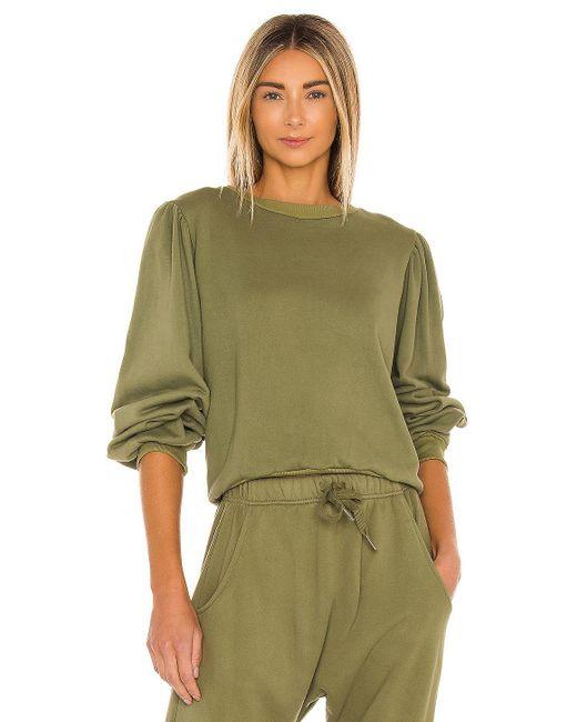 Acacia Swimwear Nora スウェットシャツ Green
