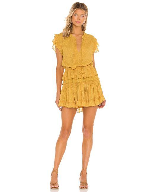 MISA Los Angles Lilian ドレス Yellow