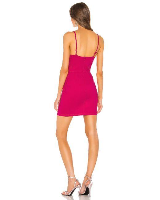 Мини Платье Mia В Цвете Розовый superdown, цвет: Pink