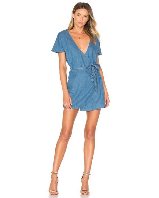 Tularosa - Blue Didion Dress - Lyst