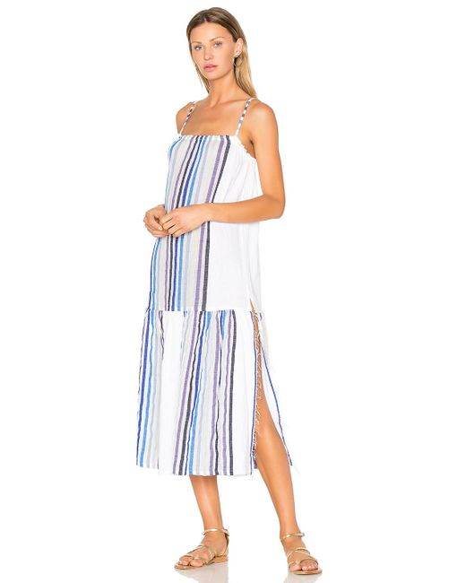 Lemlem Candace Maxi Dress in Blue