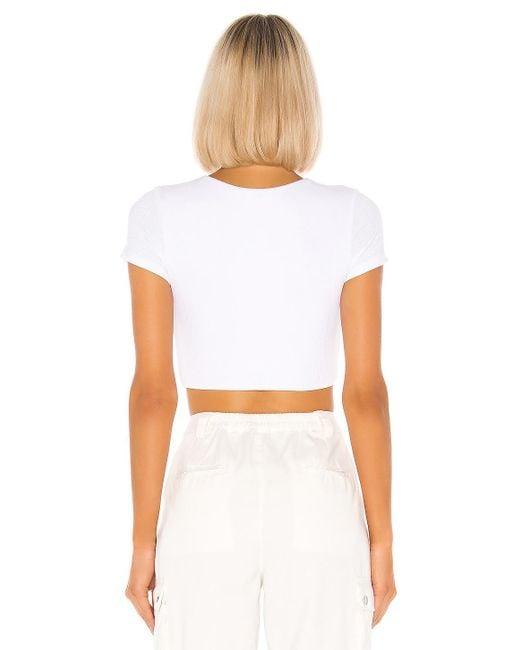 superdown Laia クロップtシャツ White