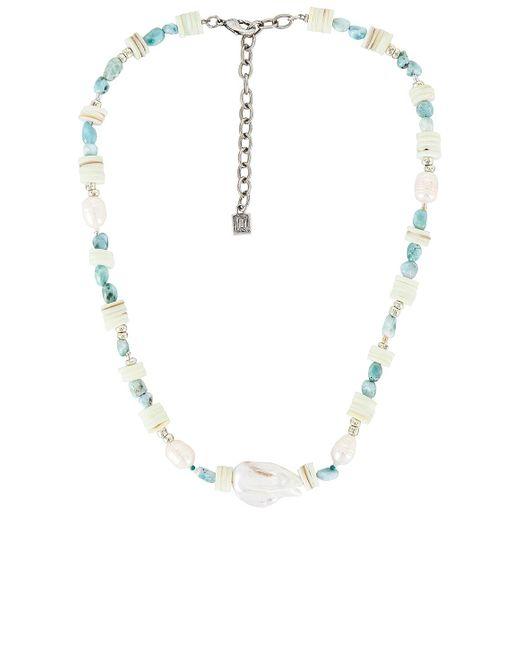 Ожерелье Riviera В Цвете Серебряный DANNIJO, цвет: Metallic