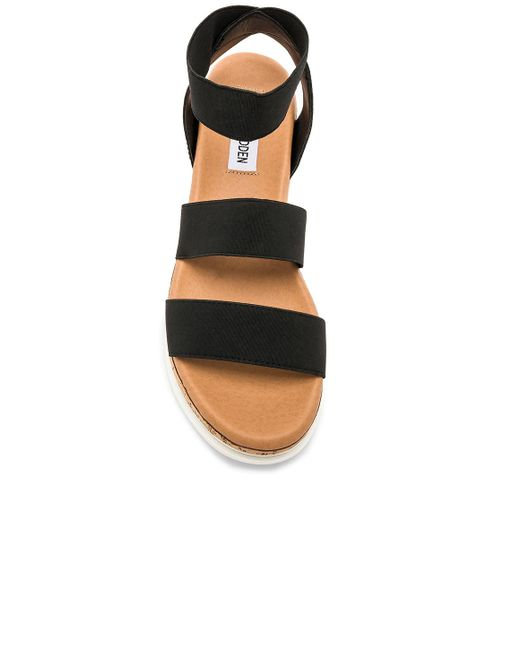 5dc9de6b85c7 Lyst - Steve Madden Bandi Sandal in Black - Save 12%