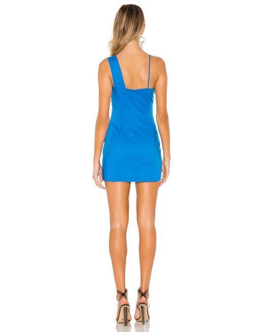 superdown Blue Eleanor Mini Dress