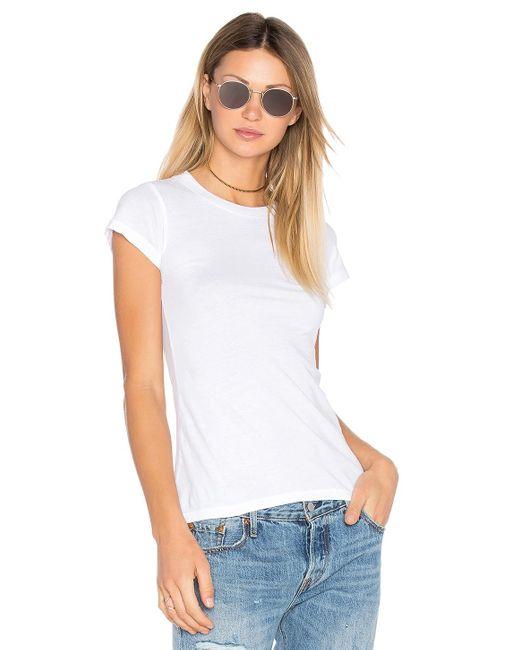 Lamade クルーネックtシャツ White