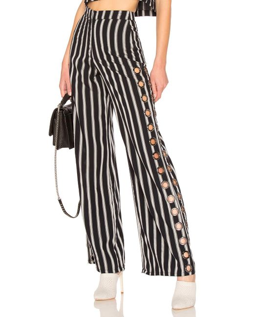 House of Harlow 1960 - Black X Revolve Holden Pant In Navy - Lyst