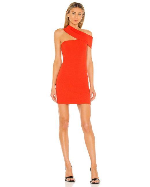 Nbd Red Ianna Dress