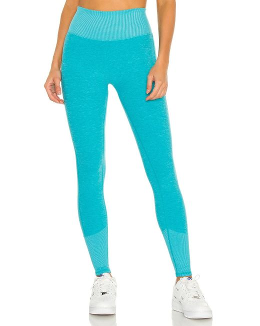 Alo Yoga Soft レギンス Blue