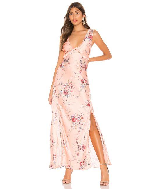 LoveShackFancy Kendall ドレス Pink
