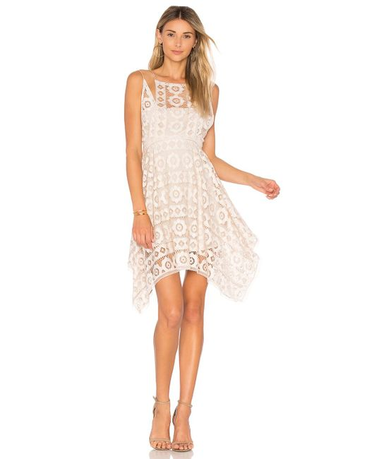 Free People | White Just Like Honey Lace Dress | Lyst