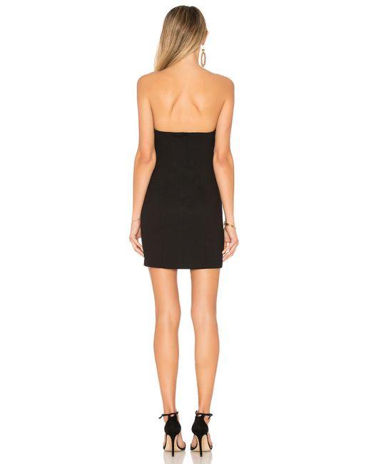 Amanda Uprichard Sangria Dress In Black In Black Lyst