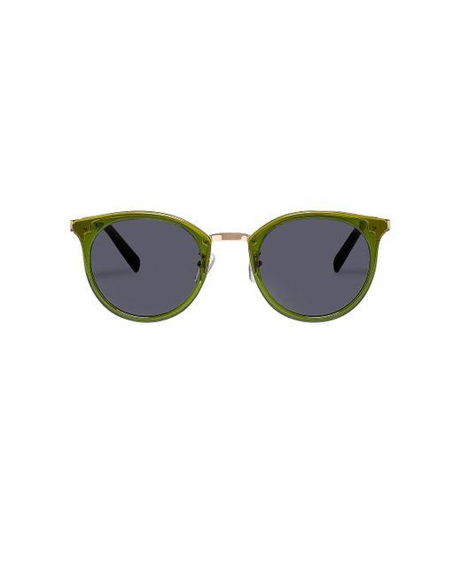 Солнцезащитные Очки No Lurking В Цвете Khaki & Smoke Mono Le Specs, цвет: Multicolor