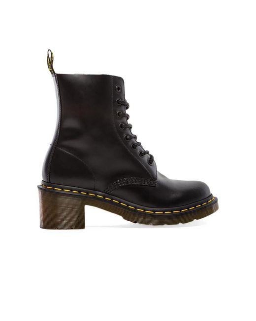 Dr. Martens Clemency 8-tie Boot Black
